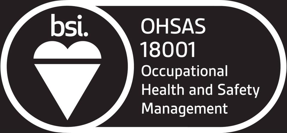 BSI ISO 18001 accredited again!