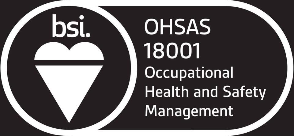 BSI ISO 18001 accredited again!